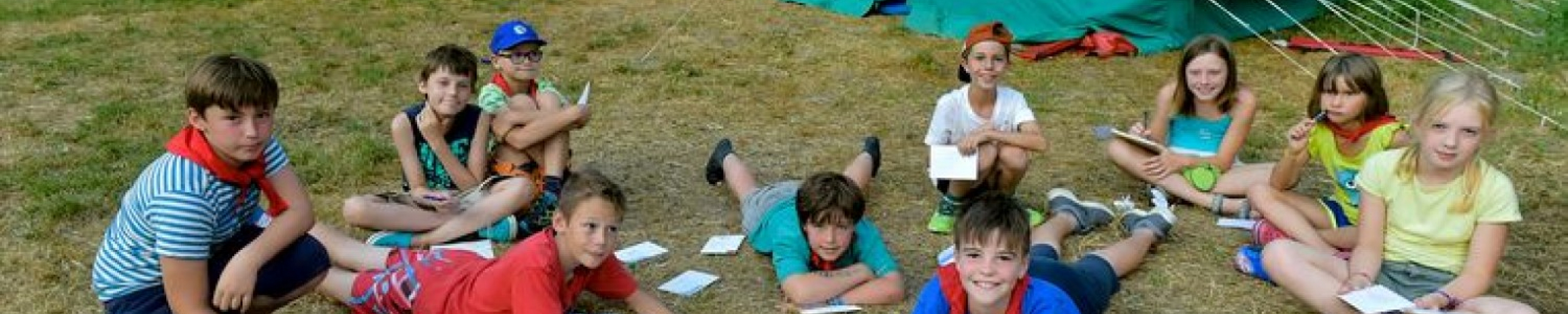 Uw kind op jeugdkamp (Florian Van Eenoo photonews)